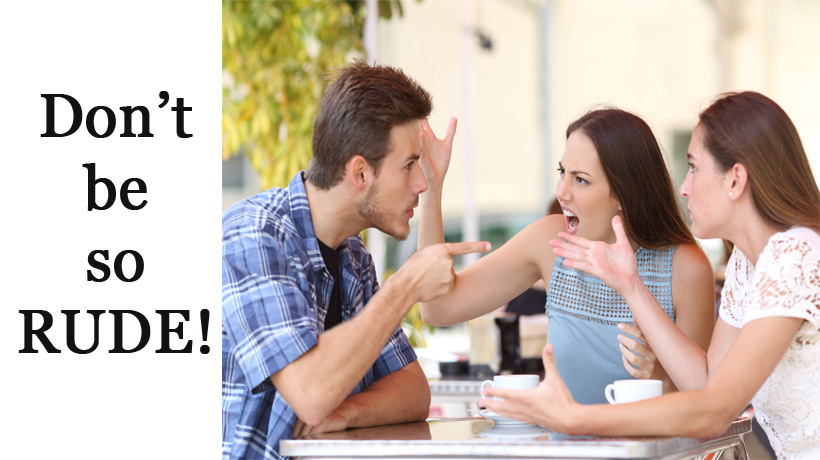 5 ways to deal with rude people womenworking