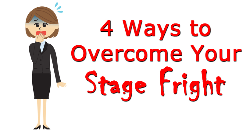 speech of how to overcome stage fright Edit article how to overcome stage fright four methods: overcoming stage fright on the day of the performance overcoming stage fright for a speech or a presentation general strategies for overcoming stage fright overcoming stage fright for an acting performance community q&a.