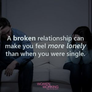 when you feel lonely in a relationship