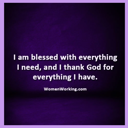 I Am Blessed By God I am blessed... - Wome...
