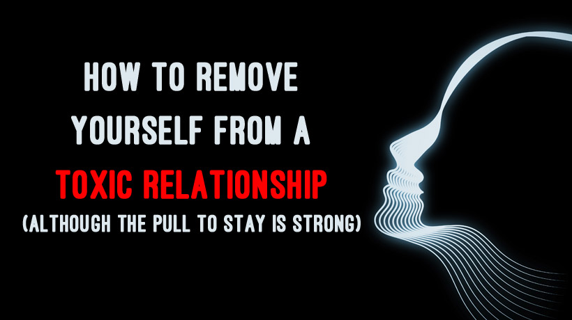 how to detach from a toxic relationship