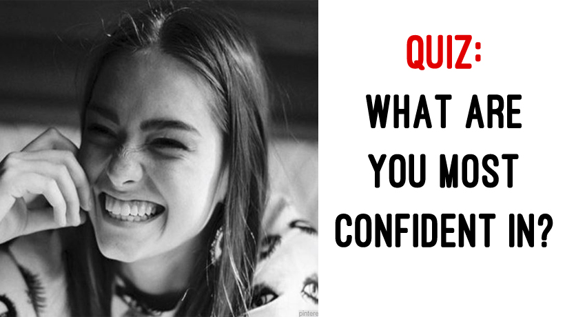 how to be the most confident person