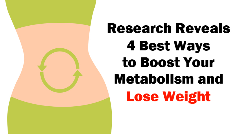 Lose weight speed up your metabolism