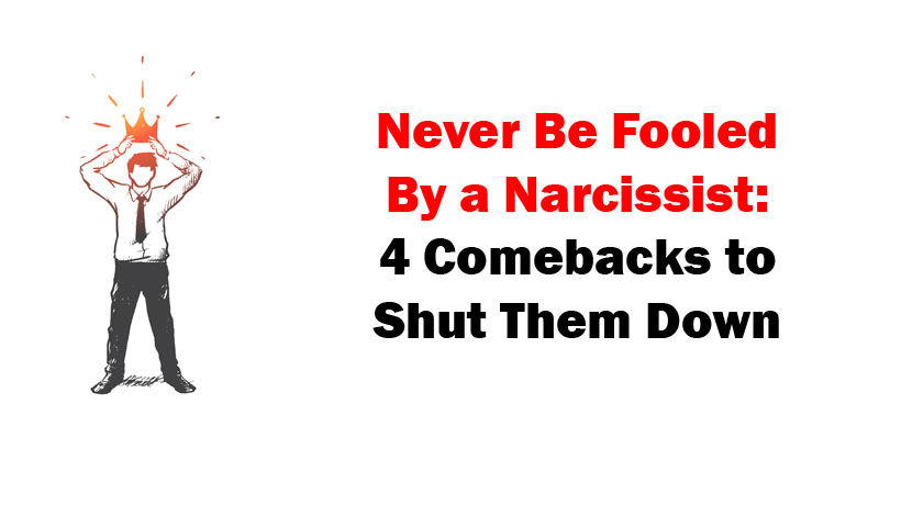 how to shutdown a narcissist at work