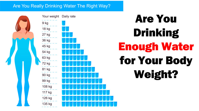 Drinking Water Helps Youn Lose Weight