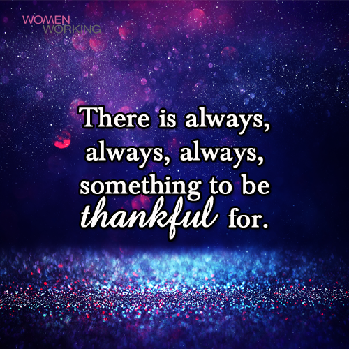 Thankful - WomenWorking