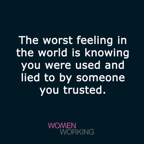 The Worst Feeling In The World Womenworking