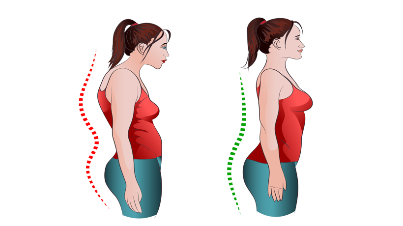 5 Exercises to Quit Slouching and Improve Posture - WomenWorking