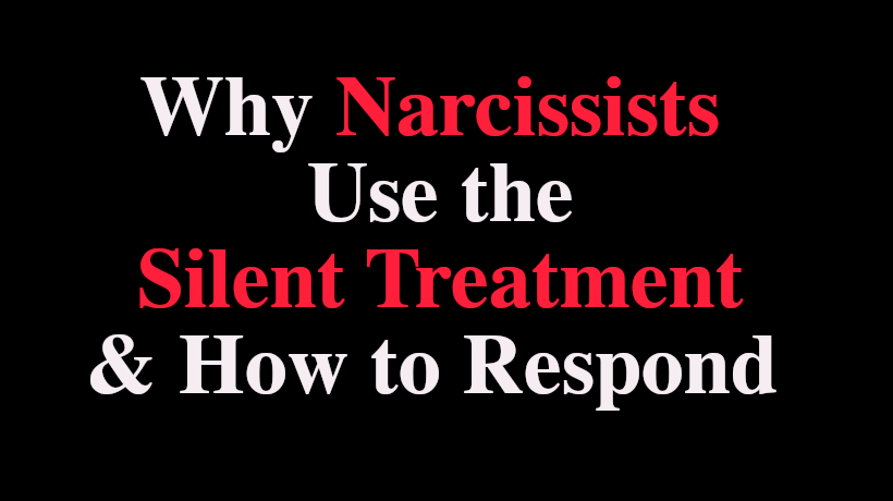 Do narcissists texts why ignore 10 Things